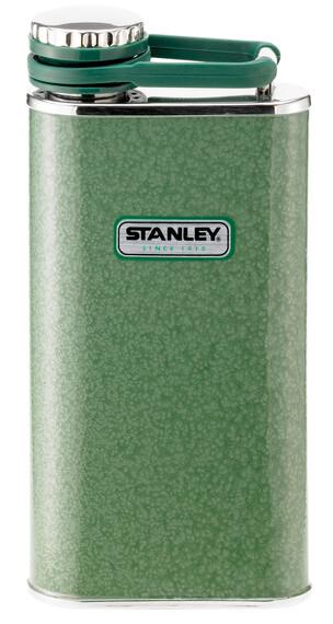 Stanley Classic Taschenflasche 236ml Hammerschlag grün